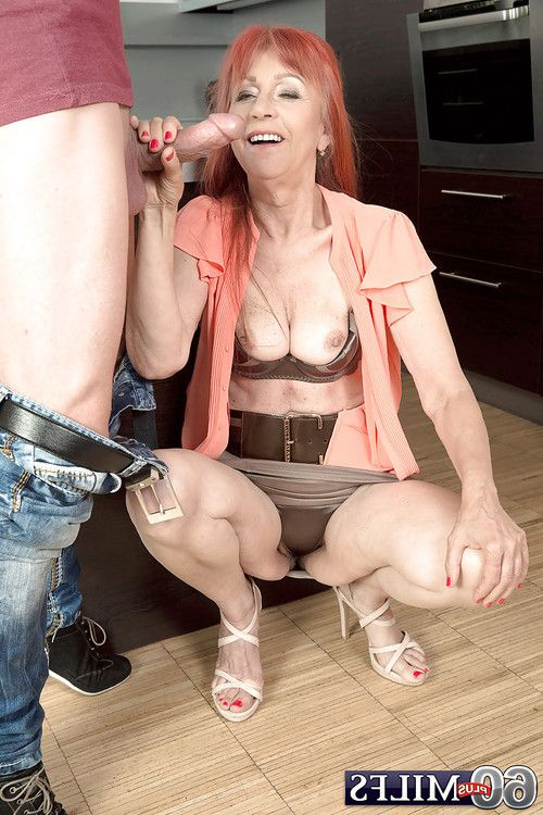 Over 60 full-grown Charlotta engaging hardcore anal intercourse in kitchen