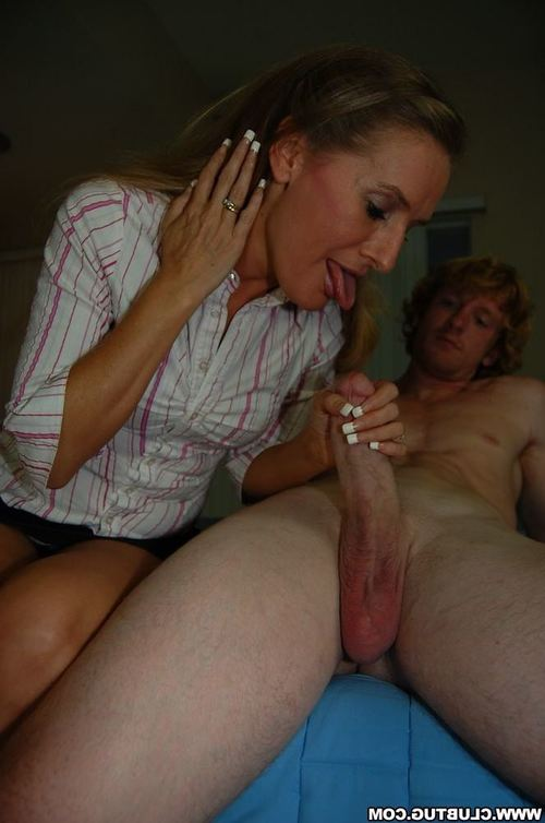 Sexually aroused placid fairy teaching her young partner how to strike a phallus