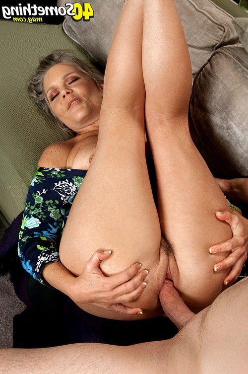 Grown gal getting her elegant muff nailed