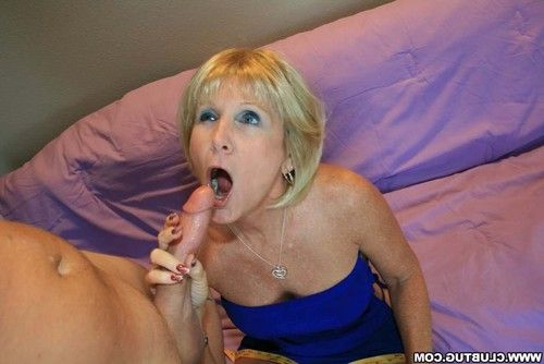 Grandma hottie ray milks out weighty weenie