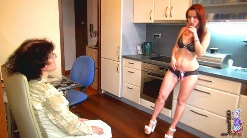 Placid and full-grown girl-on-girl and two men plus one female gangbang