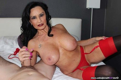 Titsy older rita daniels playing with firm jock