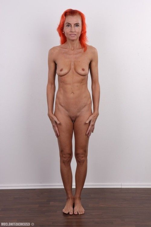 Ready infant redhead in casting view