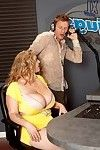 Raunchy bbw renee ross uses her k-jugs in love making doing
