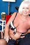 Breasty older milf jeannie lou in act