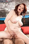 Appealing grandma katherine merlot drill her snatch unfathomable and intense