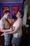 Sexually aroused ready lady deed her younger boy-friend