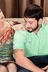 Nasty sexually intrigued milf lin having shlong twice her age
