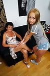 This clammy cutie can\'t live without fooling around with a sexually aroused ripe girl-on-girl
