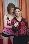 Lascivious fresh queen act a sexual full-grown lesbo