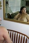 Large breasted lalin girl bbw modeling exposed at homemade youthful exposed modeling set free -