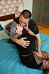 Sexually aroused seasoned lady activity her species younger devotee