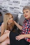 Moist adolescent queen playing with a mellow woman-on-woman