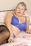 Raunchy british full-grown lady getting passionate