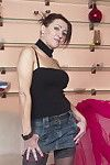 Lustful housewife deed her younger partner