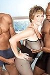 Ripe woman owned by dual brown jocks in interracia fucking action threeso