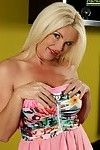 Established blond princess Casey Szilvia freeing immense billibongs and swelling cunt