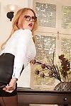 Dear Goldee Monroe standing in her nice-looking leather petticoat on webcam