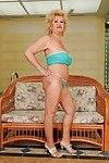 Vast busted adult in underware erotic dance and showcasing her gloryhole