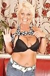 Fairy-haired grandpa striptease off her  and exposing her  cage of love