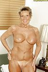 Titsy grown up Sandra Ann erotic dancing off her sexy pants and standing without clothes