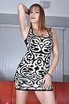 Rounded full-grown woman Miss MelRose stretching need legs to creep trimmed snatch
