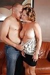 Boobsy mother is getting a heavy snake penetration from her untried ally