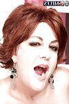 Boobsy redhead aged Gabriella LaMay jolly spunk fountain afterwards hardcore smokin\'