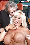 Buxom over Fifty wife Annellise Croft winning penis sooner than cuckold hubby