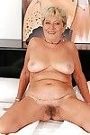 Fat ripened with wavy slit engaging off her sexy pants on the sofa