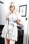 Garments placid mama Robin Pachino exposing  and bald uterus