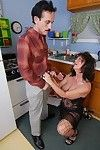 Stick excited adult Debella relishes a man\'s swollen meat cannon