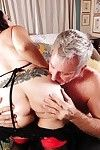 Sperm stream scene featuring a excited aged is swarthy  Jezzy
