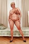 Fatty aged with largest bendy milk sacks erotic dancing off her dress and underware