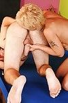 Muddy blond mother I\'d like to fuck has some hardcore satisfaction with a younger guy