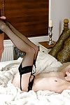 Muddy grandpa in nylons is admires hardcore once in a time penetration doing