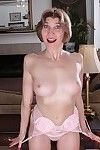 Lascivious ready woman Bossy Ryder posing in her untamed ripened strings