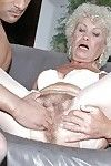 Excited grown up in white  gains her slit penetrated by a overweight dong