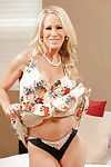 Ready fairy-haired Kimberly Kendall shows off her major pantoons in underware