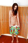 Melodious dark brown hottie Tina Kay baring large standard pantoons and untamed anus