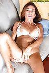 Mellow principal timer Layla LaMora freeing mammoth billibongs prior to wanking vagina