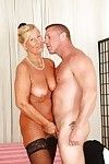 Tough chap is smokin\' ache blond aged Grown up in her face