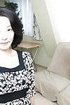 Sexual eastern MILF Aya Sakuma undressing and exposing her holes