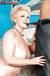 Sexual adult Jewel disrobes and blowing a massive shlong