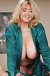 Sassy mellow fairy prostate massage a thick shlong with her hands and massive fatty pointer sisters