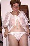 Smoking old grandpa seducing and posing